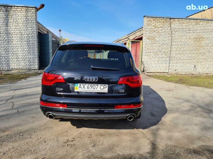 Audi Q7 2012 черный - фото 16