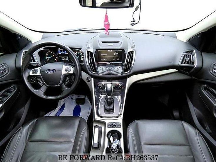 Ford Escape 2013 серебристый - фото 3