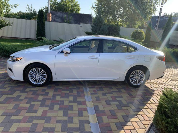 Lexus ES 2017 белый - фото 4
