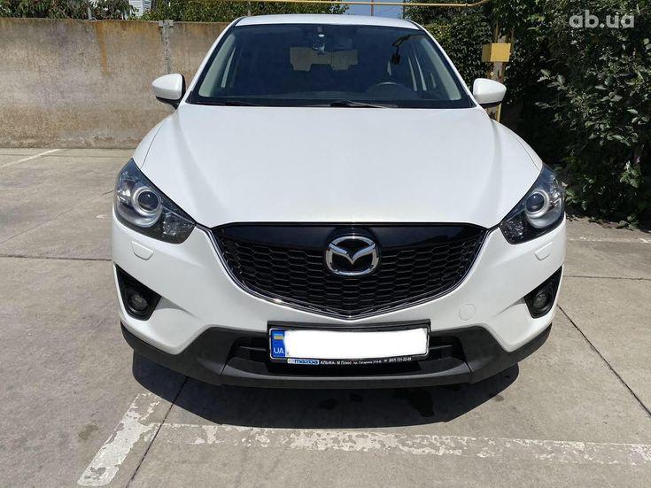 Mazda CX-5 2014 белый - фото 3
