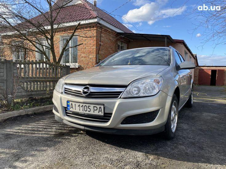 Opel Astra 2008 бежевый - фото 3