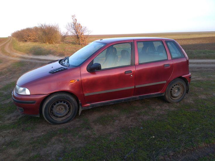 Fiat Punto 1998 красный - фото 4