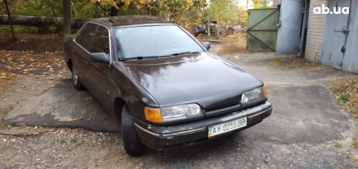 Ford Scorpio 1990 черный - фото 11
