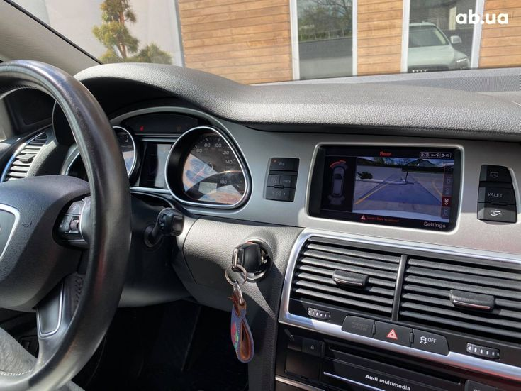 Audi Q7 2013 белый - фото 16