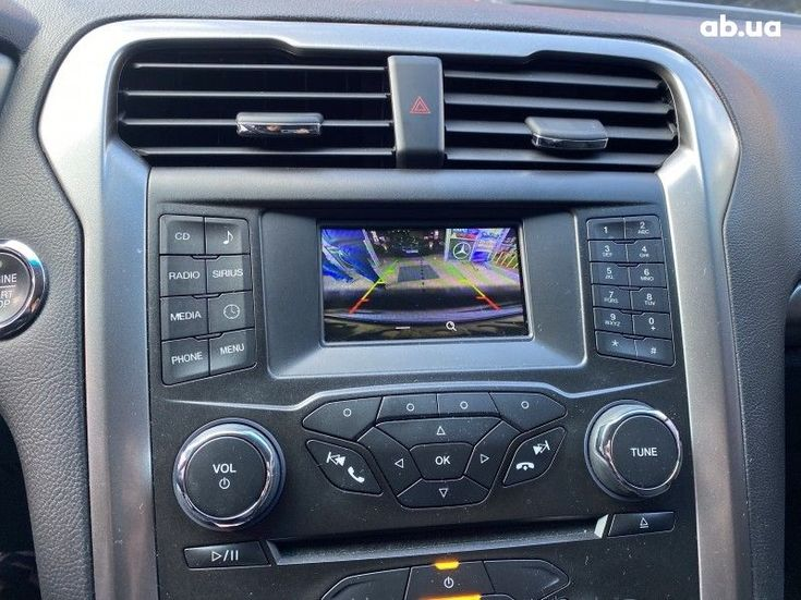 Ford Fusion 2016 серебристый - фото 8