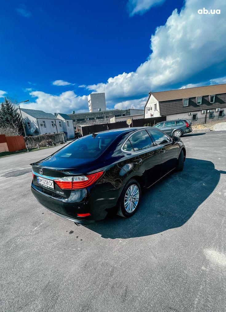 Lexus es 350 2013 черный - фото 2