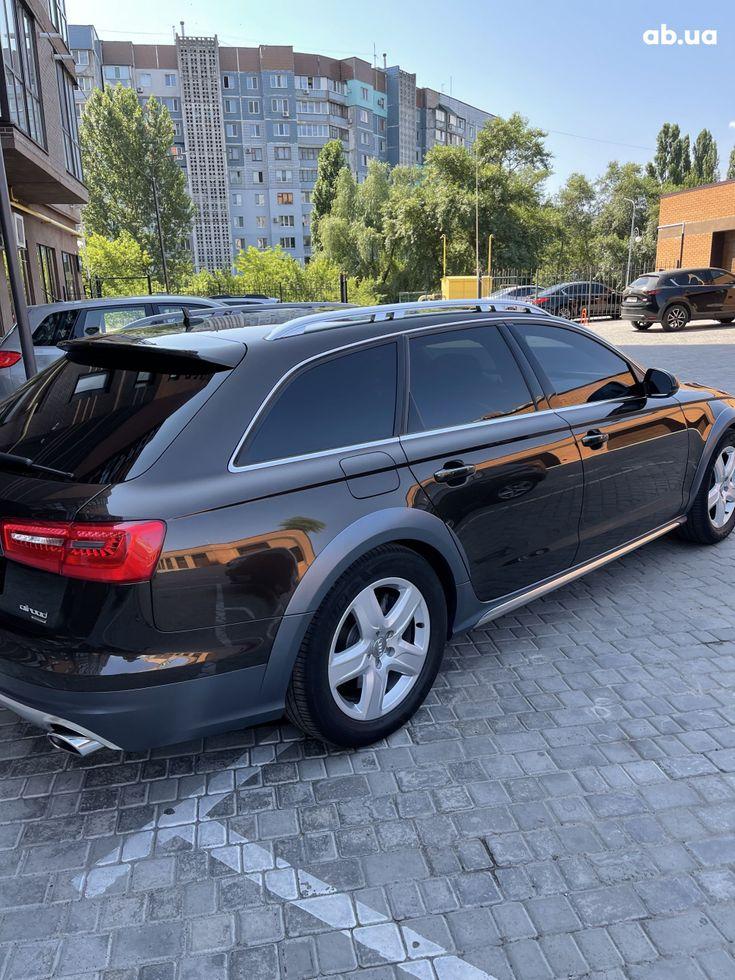 Audi a6 allroad 2013 коричневый - фото 10