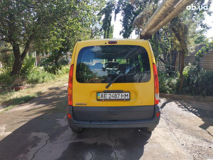 Renault Kangoo 2003 желтый - фото 2