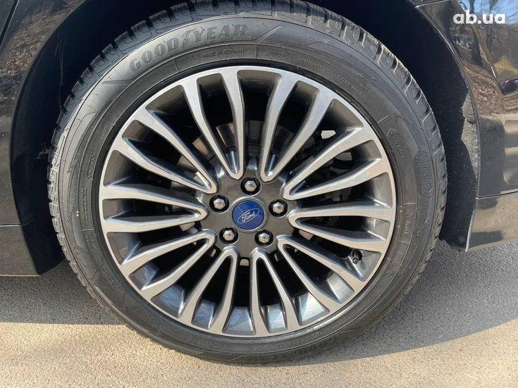 Ford Fusion 2017 черный - фото 19