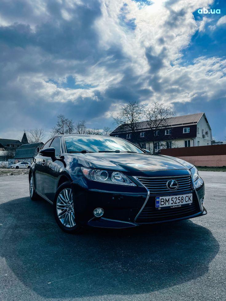 Lexus es 350 2013 черный - фото 1