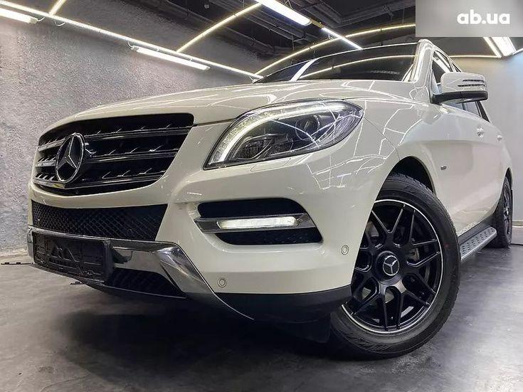 Mercedes-Benz M-Класс 2013 белый - фото 4
