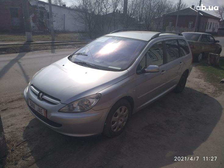 Peugeot 307 2005 серый - фото 6