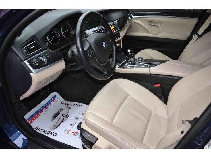 BMW 5 серия 2011 синий - фото 6