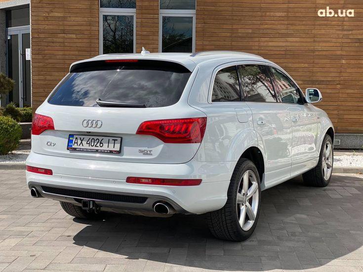 Audi Q7 2013 белый - фото 11