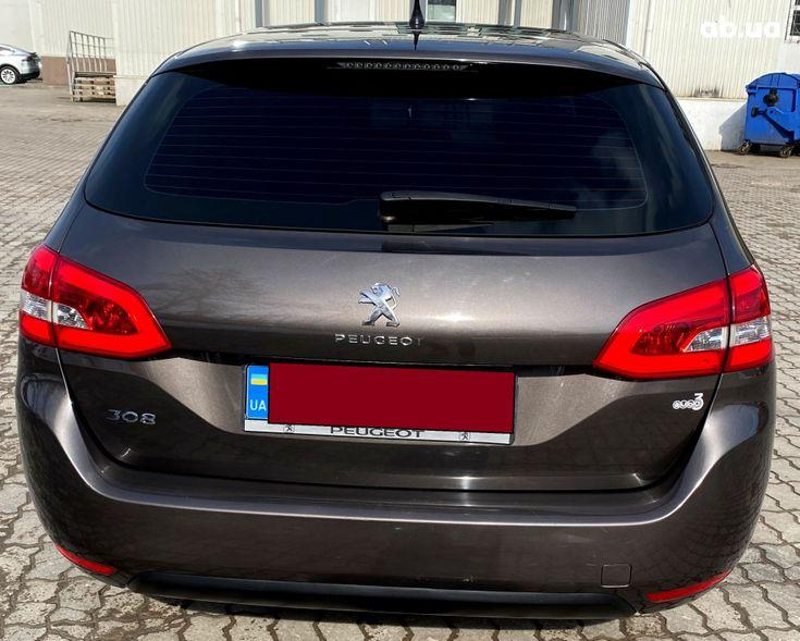 Peugeot 308 2015 коричневый - фото 7