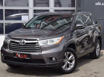Продажа б/у Toyota Highlander 2016 года - купить на Автобазаре