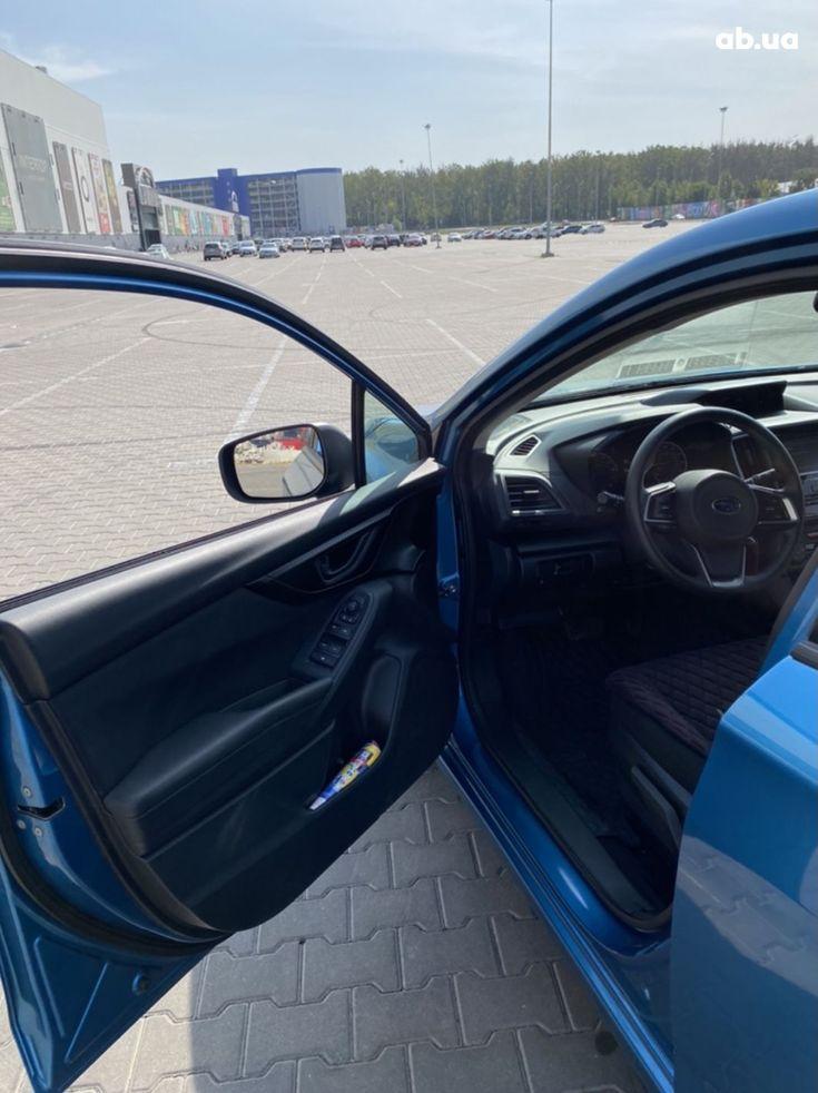 Subaru Impreza 2018 синий - фото 7