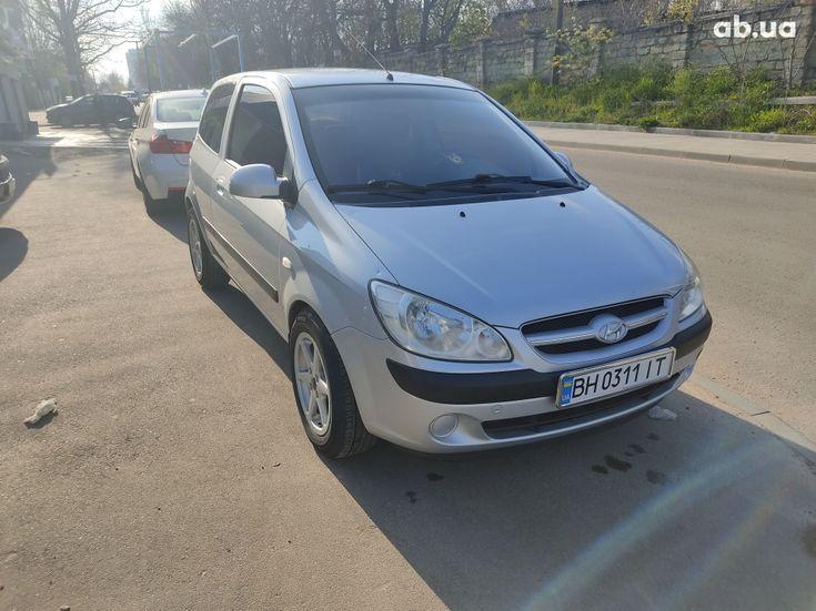 Hyundai Getz 2005 серый - фото 16