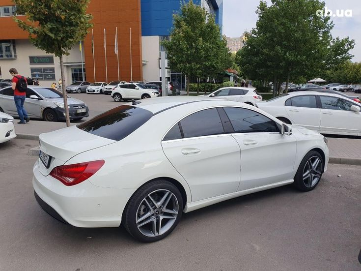 Mercedes-Benz CLA-Класс 2014 белый - фото 7
