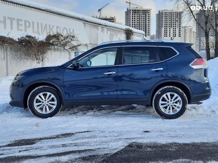 Nissan Rogue 2016 синий - фото 9