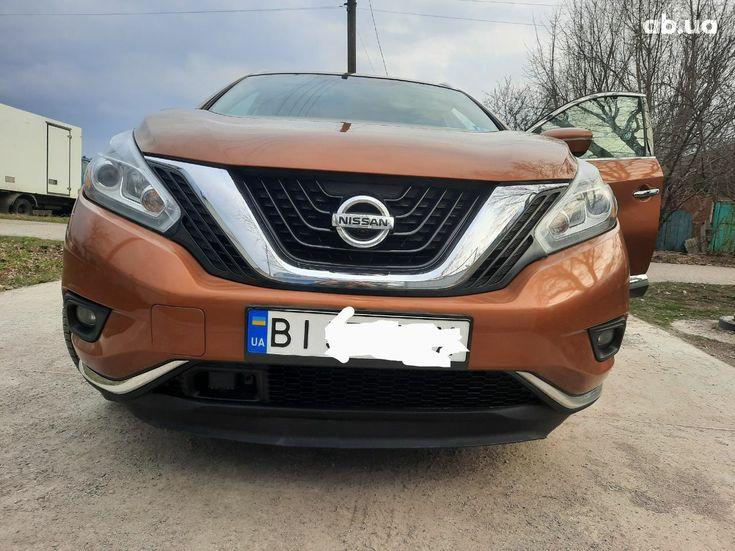 Nissan Murano 2015 оранжевый - фото 5