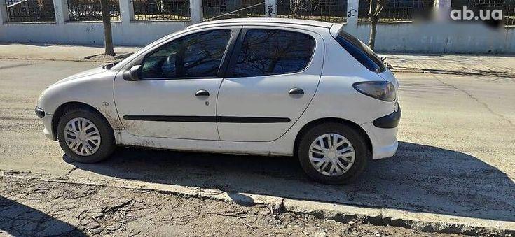 Peugeot 206 2008 белый - фото 5