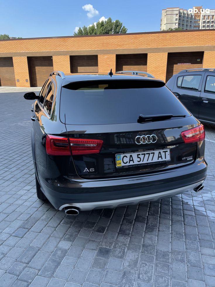 Audi a6 allroad 2013 коричневый - фото 7