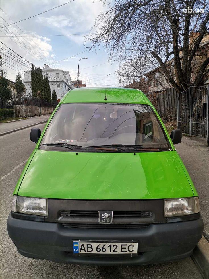 Peugeot Expert 1999 зеленый - фото 1
