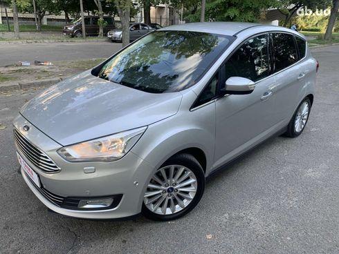 Ford C-Max 2015 серый - фото 1