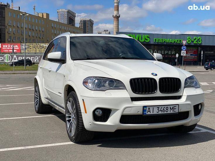 BMW X5 2012 белый - фото 1