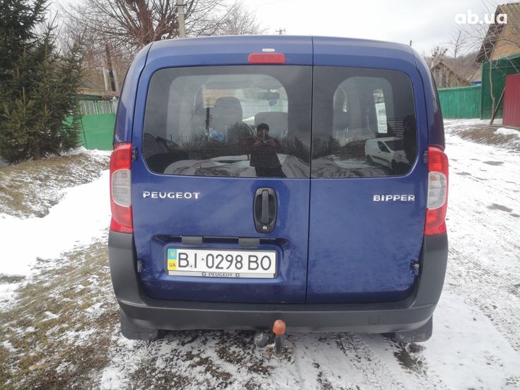 Peugeot Bipper Tepee 2008 синий - фото 7