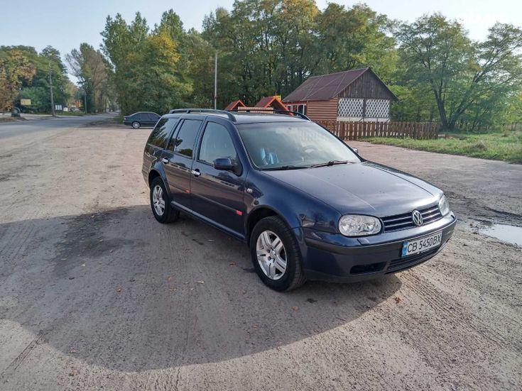 Volkswagen Golf 2000 синий - фото 1