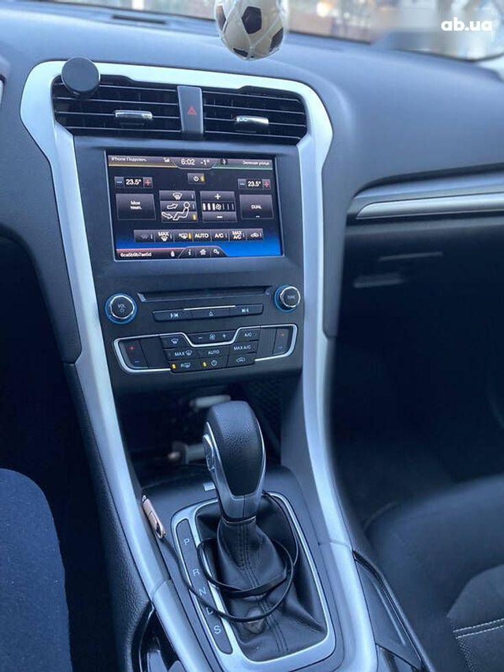 Ford Fusion 2014 серый - фото 2