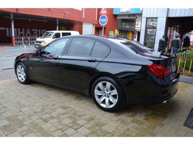 BMW 7 серия 2009 черный - фото 3