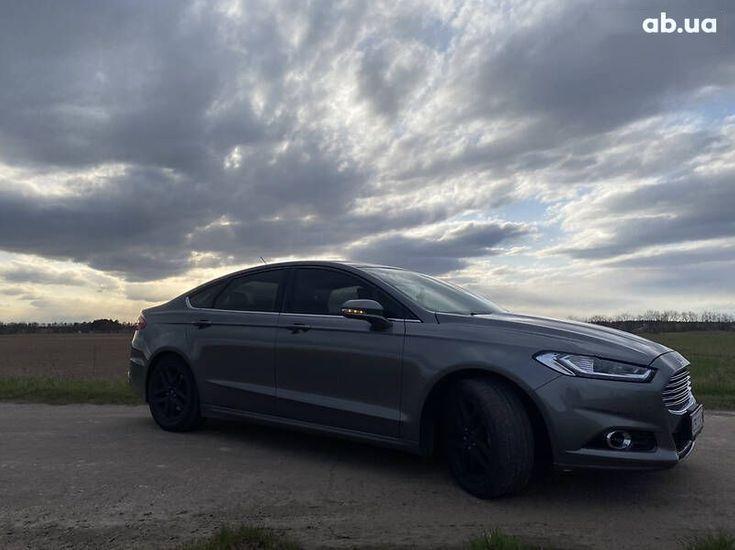 Ford Fusion 2014 серый - фото 18