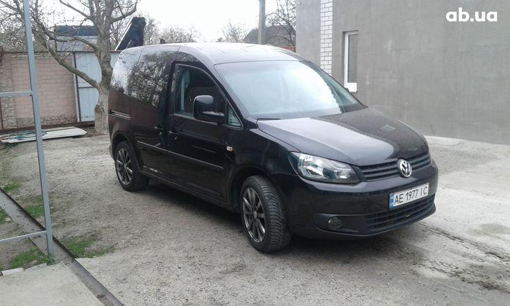 Volkswagen Caddy 2011 черный - фото 1