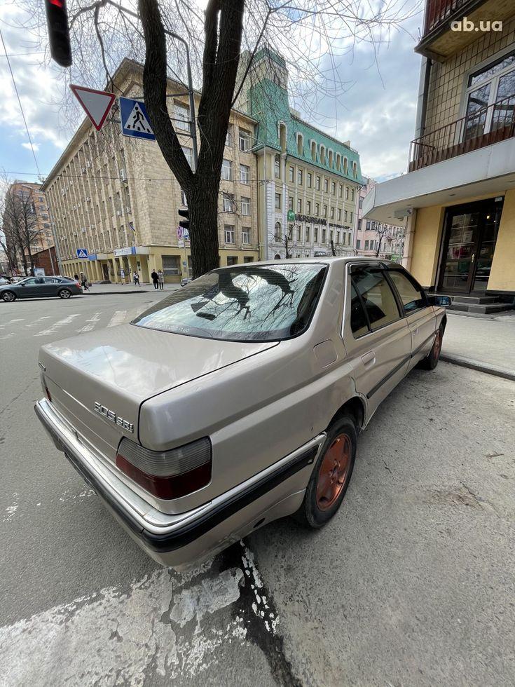 Peugeot 605 1993 бежевый - фото 3