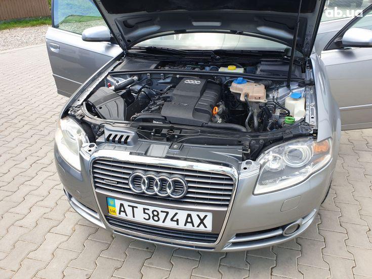 Audi A4 2007 серый - фото 7