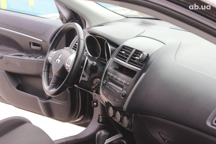 Mitsubishi ASX 2013 черный - фото 4