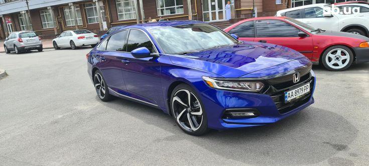 Honda Accord 2019 синий - фото 6