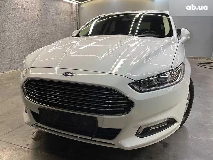 Ford Mondeo 2019 белый - фото 1