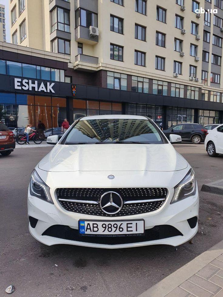 Mercedes-Benz CLA-Класс 2014 белый - фото 1