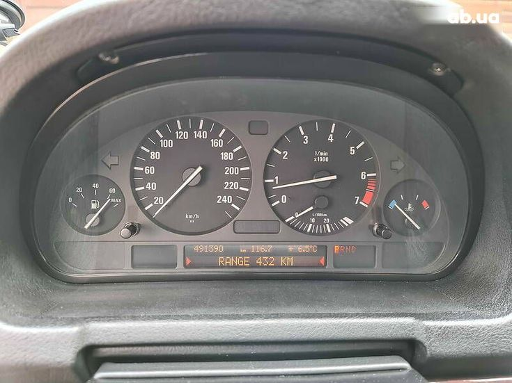BMW X5 2005 черный - фото 12
