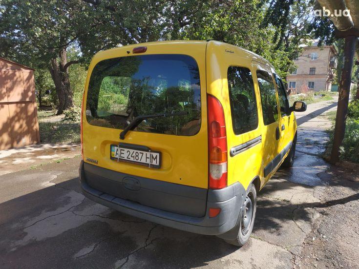 Renault Kangoo 2003 желтый - фото 3