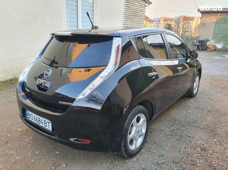 Nissan Leaf 2014 черный - фото 8