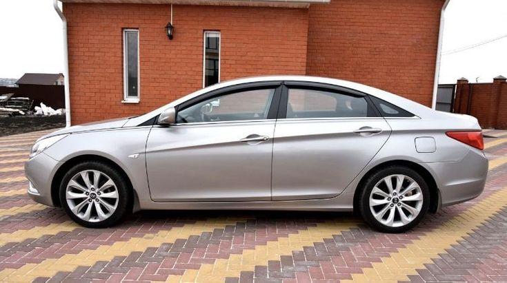 Hyundai Sonata 2011 серый - фото 3