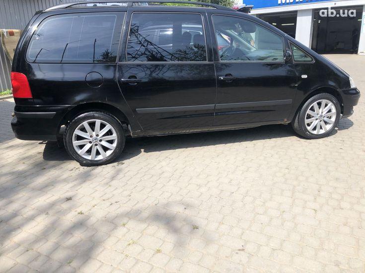 Volkswagen Sharan 2000 черный - фото 4