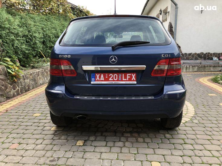 Mercedes-Benz B-Класс 2008 синий - фото 8