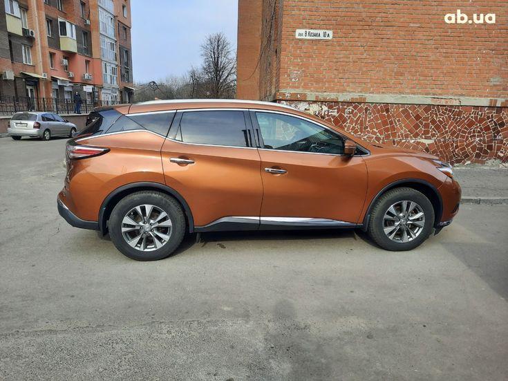 Nissan Murano 2015 оранжевый - фото 7