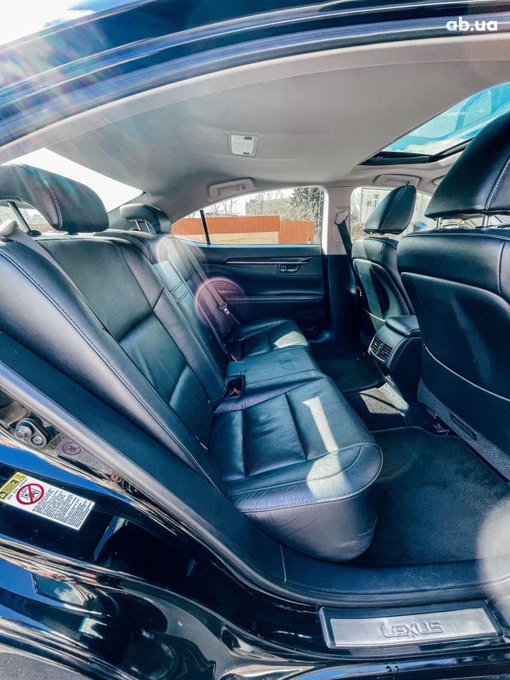 Lexus es 350 2013 черный - фото 8